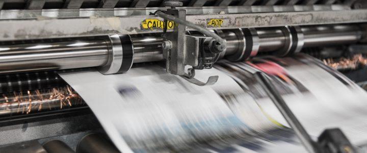 QUOD publication printing press